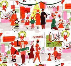 wonderful holiday shopping fabric