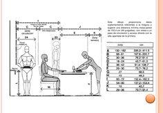 altura persona sentada mesa comedor - Google Search