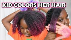 She Tried Hair Color Wax on Her Natural Hair | Colorffect Hair Color Wax | DiscoveringNatural - YouTube Natural Hair Inspiration, Color Effect, Hair Painting, Coloring For Kids, Hair Products, Her Hair, Natural Hair Styles, Wax, Hair Color
