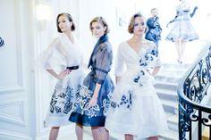 Dior Spring 2012 Backstage.
