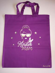 Shopper Baumwolltasche Hipster Mom Luxurypimp