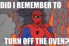 The Funniest 60s Spiderman Meme Pics