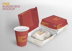 A great mockup can win the game while presenting your fast food packaging design to your client. The image quality displays every detail of your design. Burger Box, Food Packaging Design, Box Mockup, Your Design, Game, Detail, Tableware, Dinnerware, Tablewares