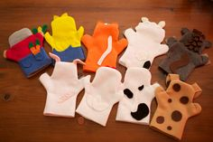 hand puppets, back