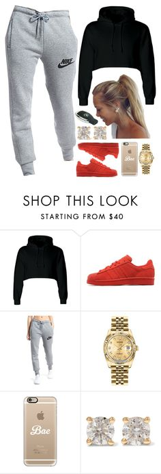 """""""02 April, 2016"""" by jamilah-rochon on Polyvore featuring adidas Originals, NIKE, Rolex, Casetify and Anita Ko"""
