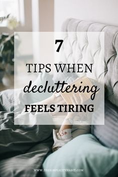 Energize your clean up game! decluttering, and getting organized.