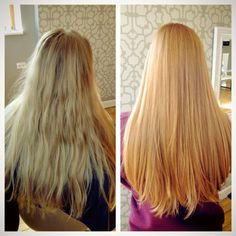 strawberry blonde hair color by Amie