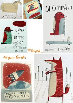 Fishinkblog 6136 Angela Smyth 5 Check out my blog ramblings and arty chat here www.fishinkblog.w... and my stationery here www.fishink.co.uk , illustration here www.fishink.etsy.com and here https://carbonmade.com/talent/fishink  Happy Pinning ! :)