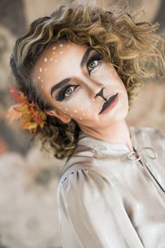 doe halloween makeup