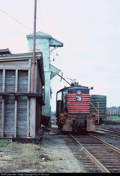 RailPictures.Net Photo: MEC302 Maine Central Alco S2 at Waterville, Maine by Paul F. De Luca