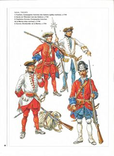 Osprey - Men at Arms 313 - Louis XV_'s Army (5) Colonial and Naval Troops[1]