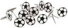 Eyelet Outlet Brads - Soccer Ball