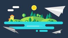 After Effects and Cinema 4D – Flat Design Animation Tutorial