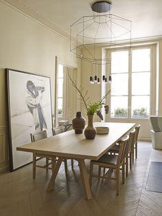 Elegant lines and designer furniture: beautiful apartment in Paris | PUFIK. Beautiful Interiors. Online Magazine