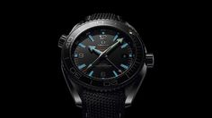 Omega Seamaster Planet Ocean GMT Deep Black Watches In Ceramic Watch Releases Omega Seamaster Planet Ocean, Omega Planet Ocean, Stylish Watches, Luxury Watches, Cool Watches, Watches For Men, Black Watches, Wrist Watches, Men's Watches