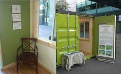 5 Ideias de Escritório Container (de pequeno porte)