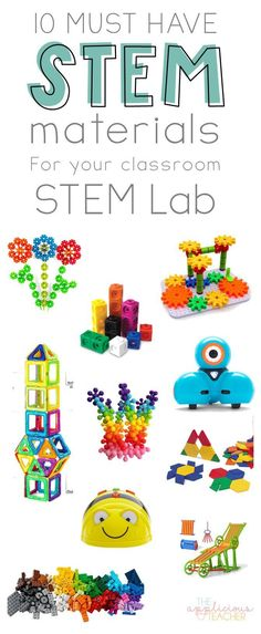 Ready to bring STEM to your classroom, but not sure where to start? This post outlines 10 MUST HAVE STEM materials for your classroom. Primary Classroom, Science Classroom, Kindergarten Classroom, Future Classroom, Kindergarten Science, Preschool, Space Activities For Kids, Stem Activities, Toddler Activities