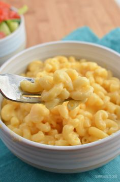 Slimming Eats Quick Mac and Cheese - gluten free, vegetarian, Slimming World and Weight Watchers friendly Slimming World Lunch Ideas, Slimming World Treats, Slimming World Pasta, Slimming World Dinners, Slimming World Recipes Syn Free, Slimming Eats, Veggie Smoothie Recipes, Green Juice Recipes, Juicer Recipes