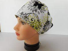 Euro Style Adjustable Pixie Surgical Scrub Hat by bluebird053