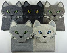 Fox iPad Pro 12.9 and 9.7 inch case Felt bag por BoutiqueID
