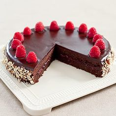 Chocolate-Raspberry Torte Recipe - America's Test Kitchen