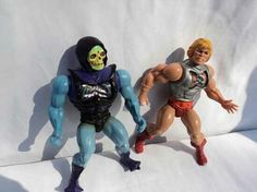 He-MAN & Skeltor the kids were crazy over this