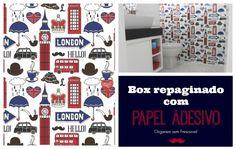Organize sem Frescuras | Rafaela Oliveira » Arquivos » Banheiro repaginado com papel adesivo- como aplicar