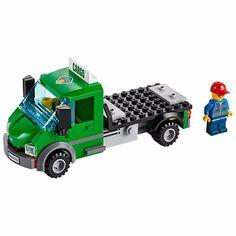 LEGO Truck Hauler CARGO LORRY / 60052 Freight - City   minifigure #LEGO
