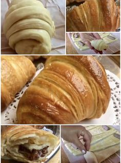 Bread Recipes, Cookie Recipes, French Sweets, Croissant Recipe, Slow Cooker Desserts, Romanian Food, Sweet Pastries, Italian Cookies, Cooking Chef