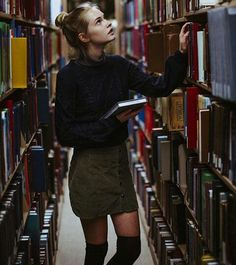 searching | books & libraries | mood | hipster wear