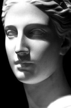 """Bust of Diana"" (detail) by Hiram Powers Smithsonian American Art Museum, Washington Potnia Theron, Greek Statues, Roman Sculpture, Roman Art, Classical Art, Renaissance Art, Ancient Art, Ancient Greek Sculpture, Art Museum"