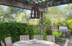 Ina Garten's Napa Valley location house-outdoor dining