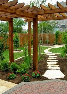 DIY Add landscaping to your backyard ~ lots of landscaping ideas ~ Pictures Of Texas Xeriscape Gardens #LandscapePictures #LandscapingDIY