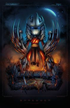 TMNT Mini Shredder by RobDuenas on deviantART