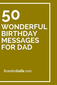 1000+ Dad Birthday Quotes on Pinterest   Fathers Day ...