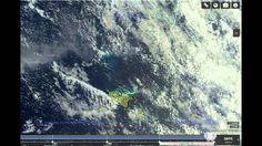 Подводное извержение, выход объекта из недр Земли остр. Тонга
