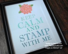 KEEP CALM and DREAM, custom dry erase boards, framed art, keep calm, Sophisticated Serifs Dry Erase Board, 3d Projects, Christmas 2016, Creative Studio, Framed Art, Stampin Up, Stamps, Boards, Calm