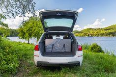 Segmentová skládací matrace do auta SPACEBED® pro pohodlné spaní v autě