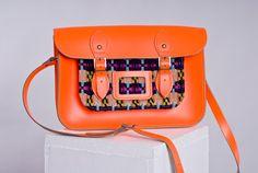 12.5 Handmade Dayglow Orange Pink or Blue by EllisJoWovenTextiles, £235.00