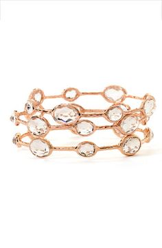 Ippolita 'Rock Candy' 8-Stone Bangle available at #Nordstrom