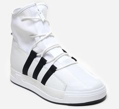 A more traditional silhouette but still very unique in the way only Yohji Yamamoto can design a shoe, the adidas Y-3 line introduces a new high-top sneaker called the ATTA. Appearing to take DNA from vintage high-top basketball sneaker designs, … Continue reading →