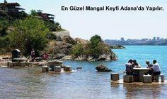 Adana'da mangal keyfi