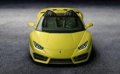 WALLPAPERS HD: Lamborghini Huracan RWD Spyder