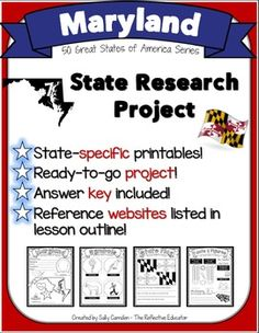 58 Best State Research Projects Images Research Projects School