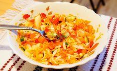SALATĂ dietetică de legume cu OVĂZ, fără ulei Ethnic Recipes, Food, Meals, Yemek, Eten