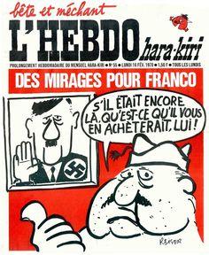 L'Hebdo Hara Kiri - # 55 - 16 Février 1970 - Couverture : Reiser