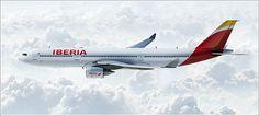 iberia through the air