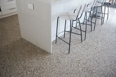 Image result for exposed aggregate concrete floors
