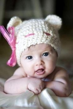 BABY HAT Crochet Pattern - Free Crochet Pattern Courtesy by jeannette