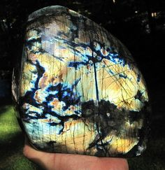 Labradorite has a number of interesting metaphysical properties, including its action to protect your aura, and to clear negativity from it... and it seals it to prevent any energy leaks. If you have been doing too much and need a recharge... it will give energy to you. Within the throat chakra it stimulates stronger psychic communication abilities.